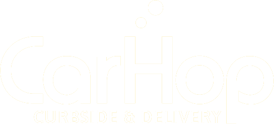 We have partnered with CarHop for delivery!